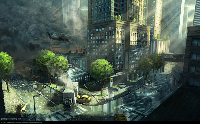 Crysis 2 Concept Art by Dennis Chan 08a