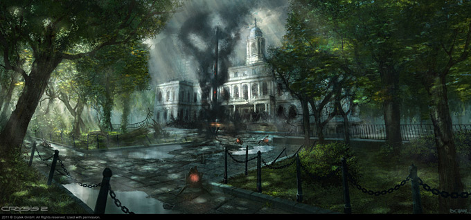 Crysis 2 Concept Art by Dennis Chan 09a