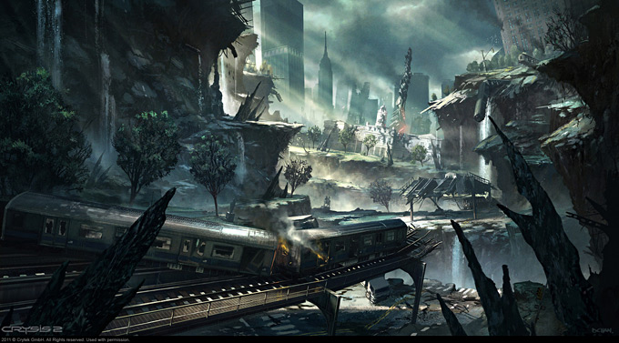 Crysis 2 Concept Art by Dennis Chan 11a