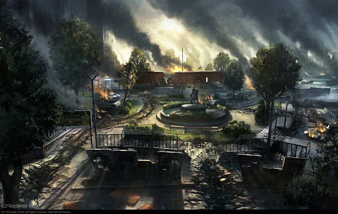 Crysis 2 Concept Art by Dennis Chan 12a