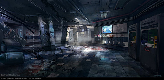 Crysis 2 Concept Art by Dennis Chan 14a
