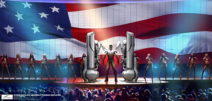 Ironman 2 Concept Art by Jonathan Bach 15a
