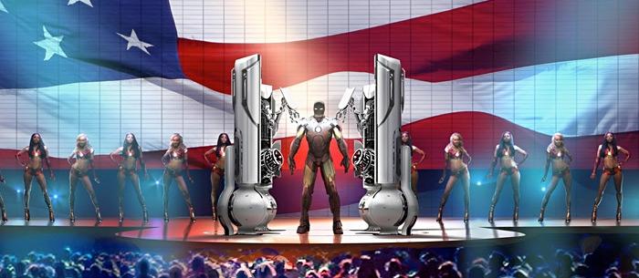 Ironman 2 Concept Art by Jonathan Bach main