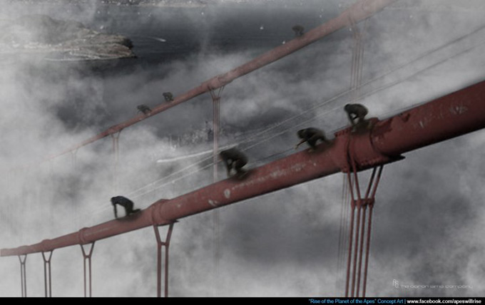 Rise of the Planet of the Apes Concept Art 01a