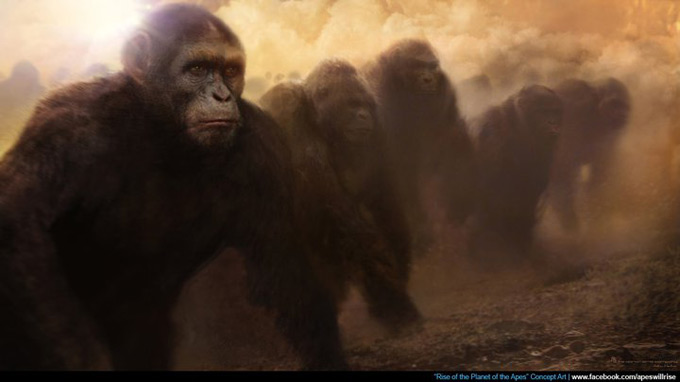 Rise of the Planet of the Apes Concept Art 02a