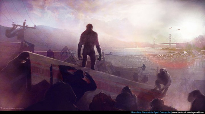 Rise of the Planet of the Apes Concept Art 03a
