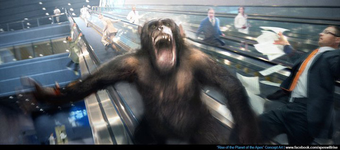 Rise of the Planet of the Apes Concept Art 05a