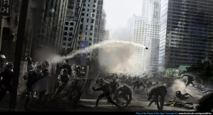 Rise of the Planet of the Apes Concept Art 06a