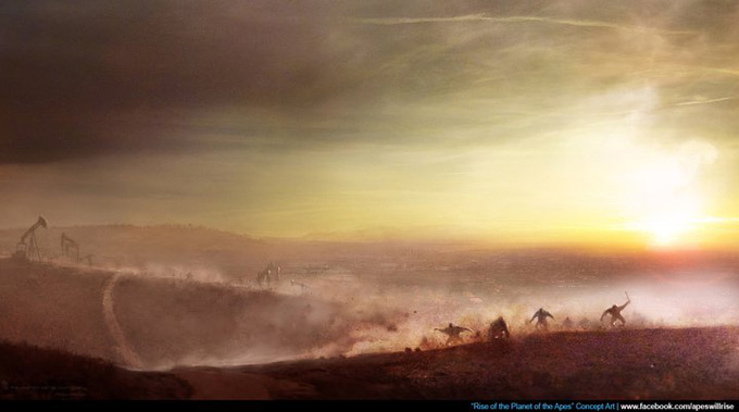 Rise of the Planet of the Apes Concept Art 07a