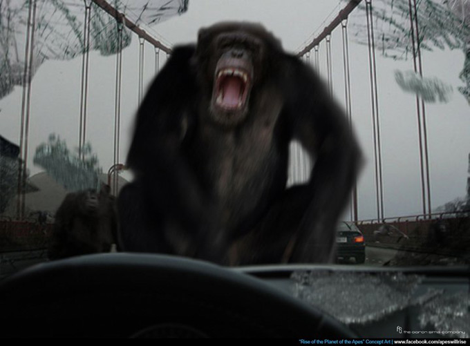 Rise of the Planet of the Apes Concept Art 08a