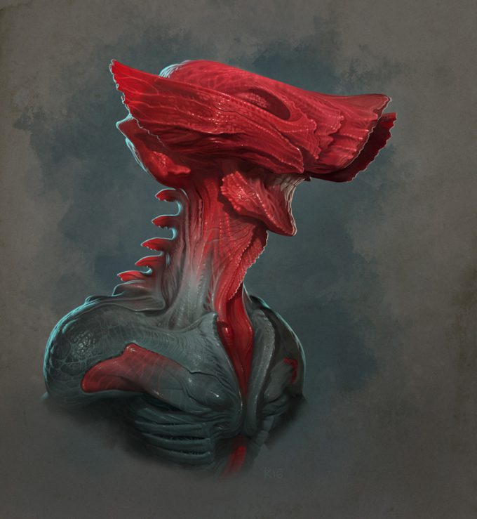 Peter Konig Concept Art creature 04