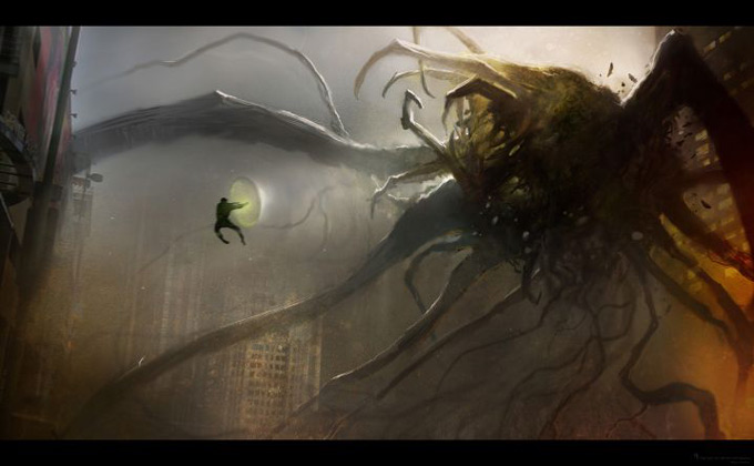 Green Lanter Concept Art by Aaron Sims Company 04a