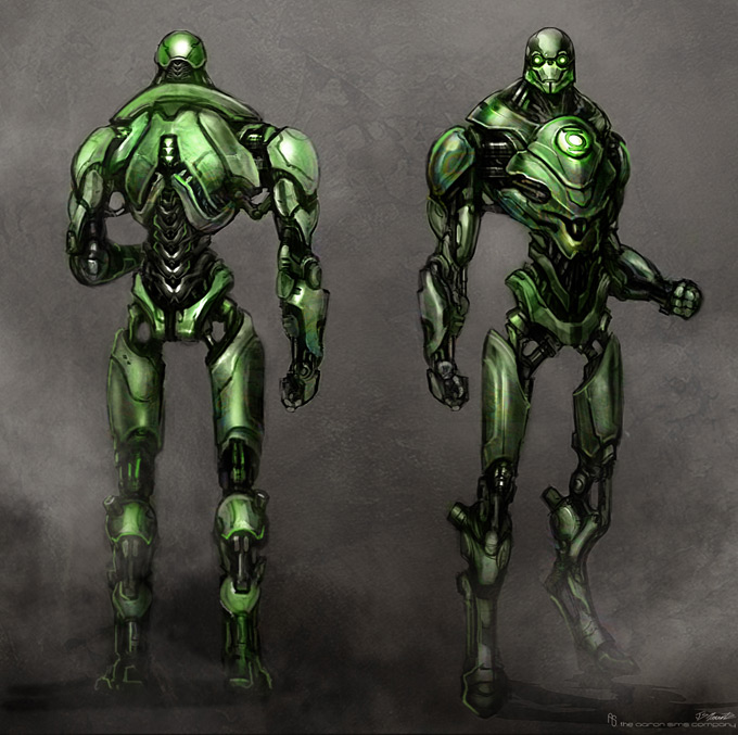 Green Lanter Concept Art by Aaron Sims Company 14a