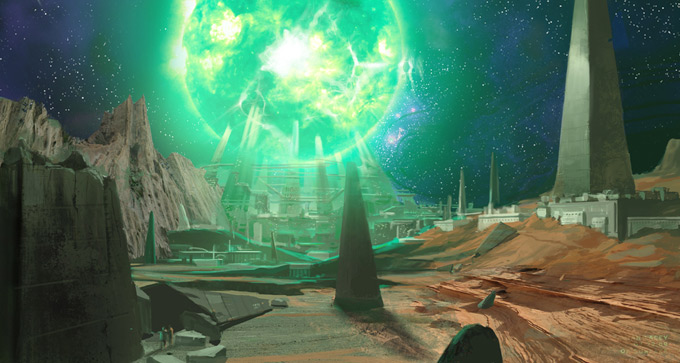 Green Lantern Concept Art by Fabian Lacey 15a