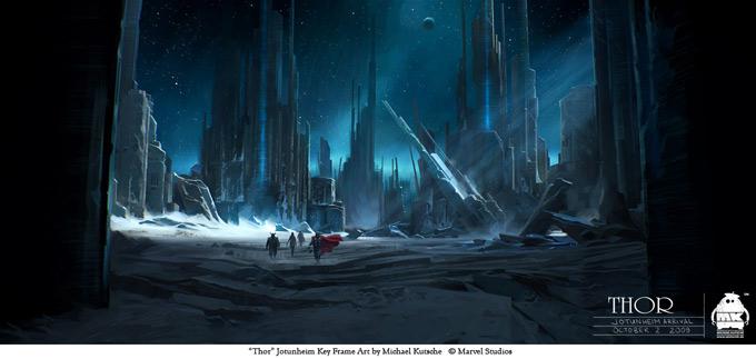 Thor Concept Art by Michael Kutsche 01a