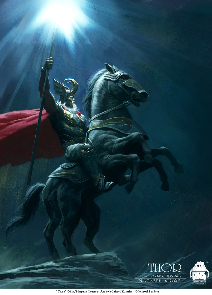 Thor Concept Art by Michael Kutsche 02a