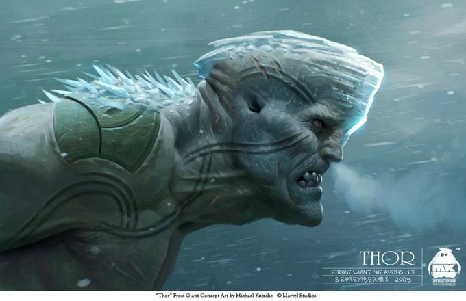 Thor Concept Art by Michael Kutsche 06a