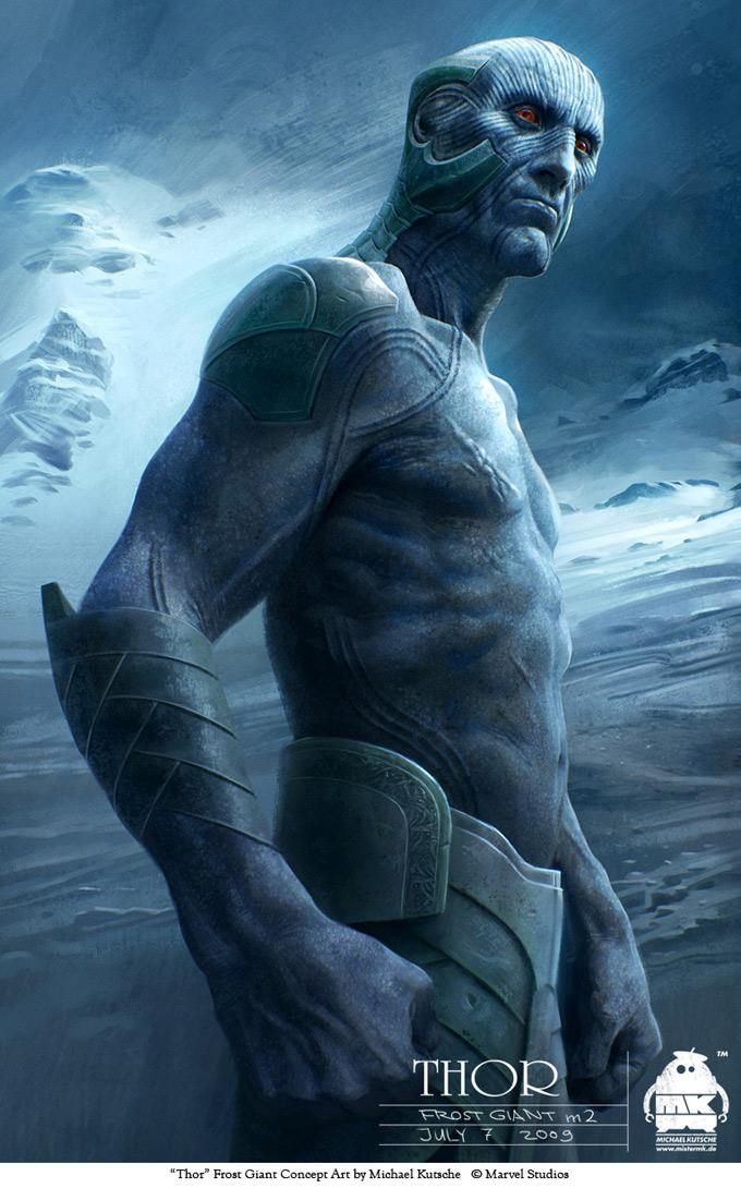 Thor Concept Art by Michael Kutsche 07a