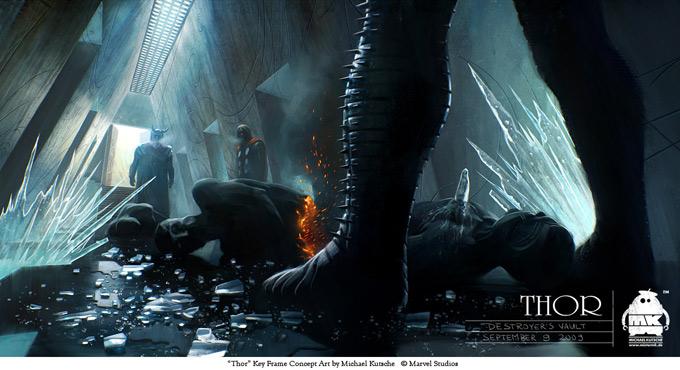 Thor Concept Art by Michael Kutsche 09a