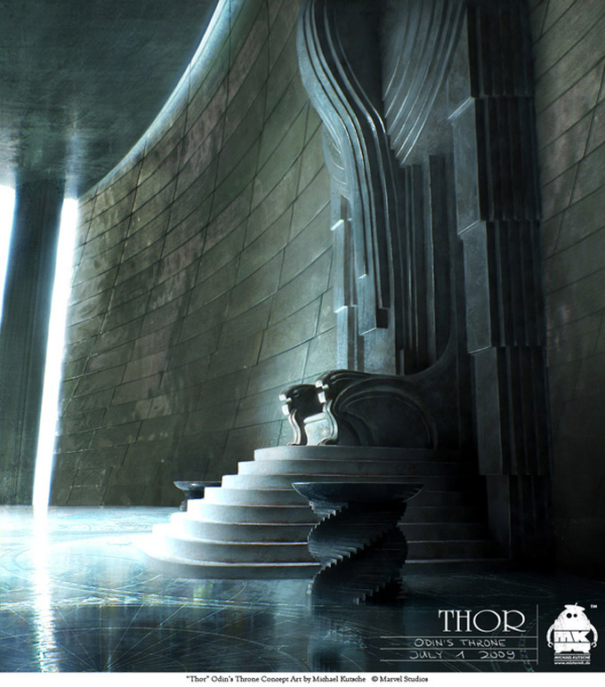 Thor Concept Art by Michael Kutsche 14a