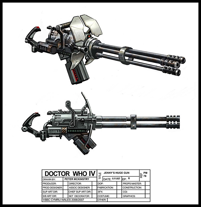 Doctor Who Concept Art by Peter McKinstry 04a