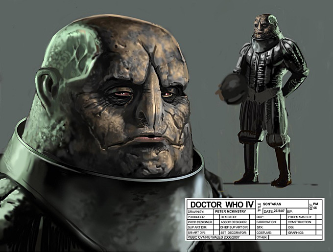 Doctor Who Concept Art by Peter McKinstry 11a