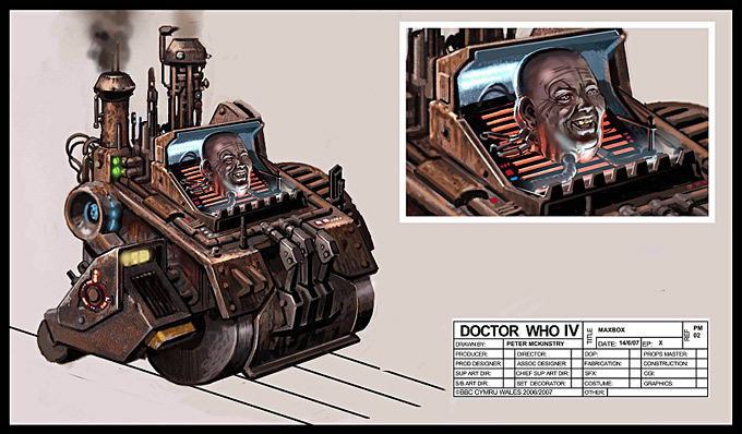 Doctor Who Concept Art by Peter McKinstry 13a
