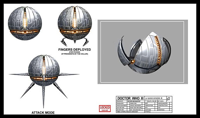 Doctor Who Concept Art by Peter McKinstry 17a