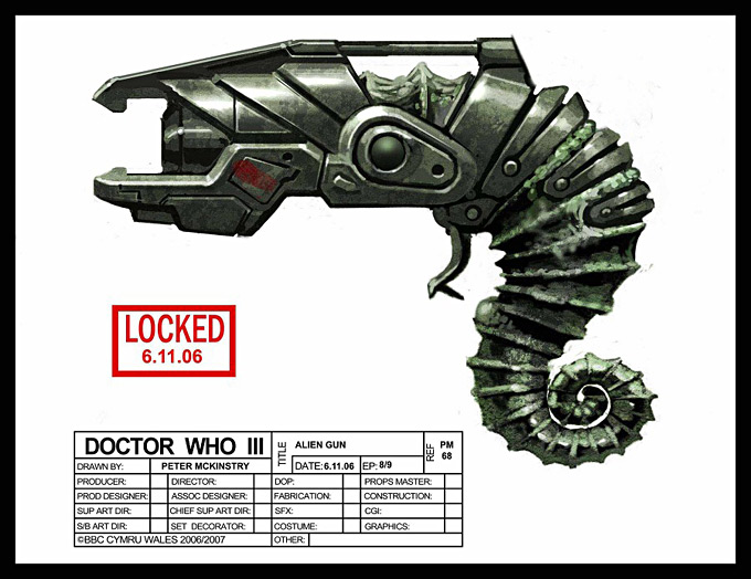 Doctor Who Concept Art by Peter McKinstry 19a