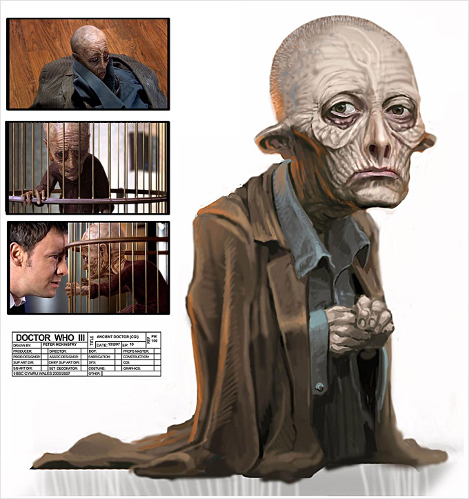 Doctor Who Concept Art by Peter McKinstry 23a