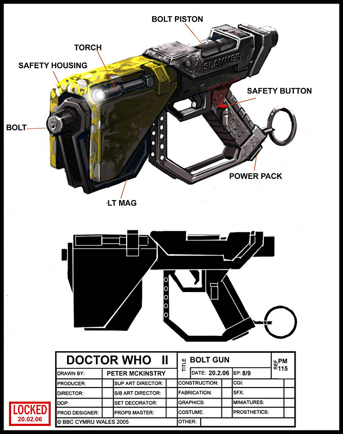 Doctor Who Concept Art by Peter McKinstry 25a