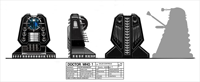 Doctor Who Concept Art by Peter McKinstry 30a