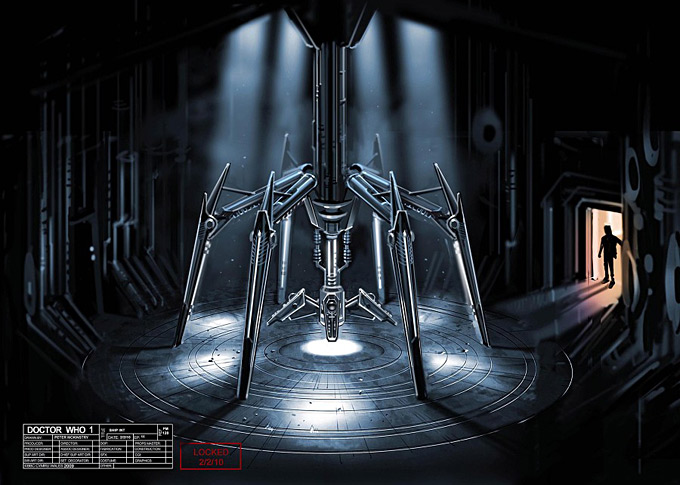 Doctor Who Concept Art by Peter McKinstry 34a