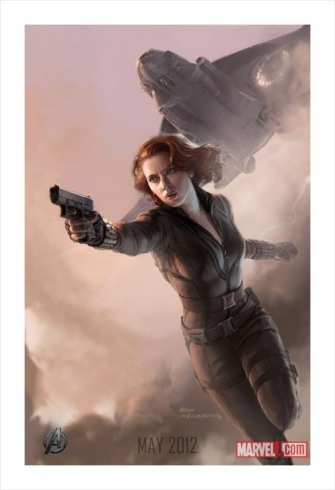 The Avengers Black Widow Concept Art 01a