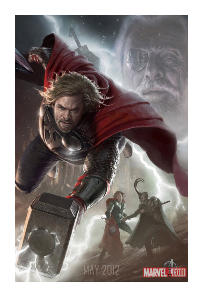 The Avengers Thor Concept Art 01a
