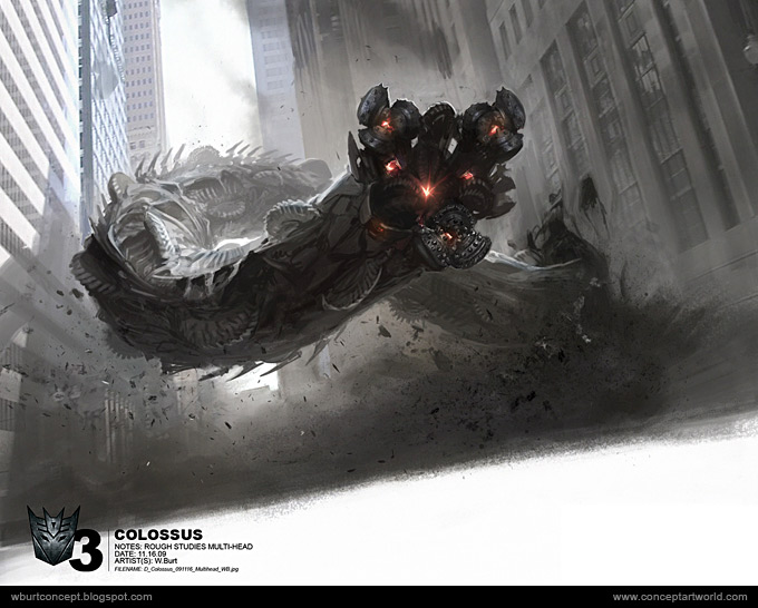 Tranformers Dark of the Moon Concept Art Wesley Burt 01a