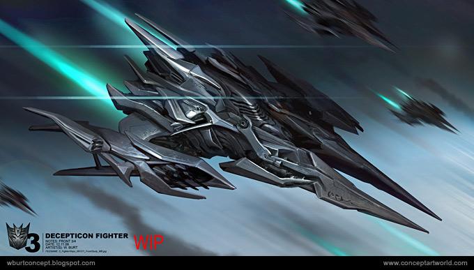 Tranformers Dark of the Moon Concept Art Wesley Burt 02a