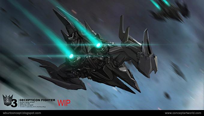 Tranformers Dark of the Moon Concept Art Wesley Burt 03a