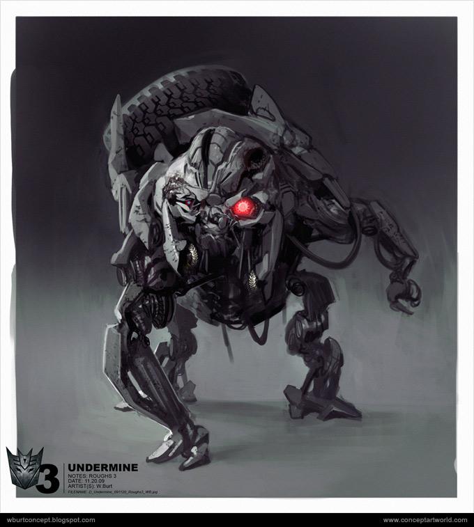 Tranformers Dark of the Moon Concept Art Wesley Burt 06a
