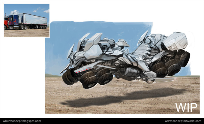 Tranformers Dark of the Moon Concept Art Wesley Burt 09a