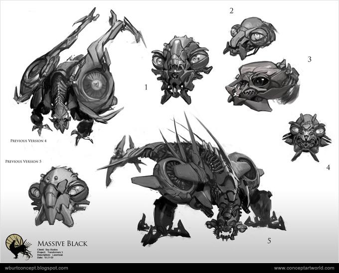Tranformers Dark of the Moon Concept Art Wesley Burt 13a