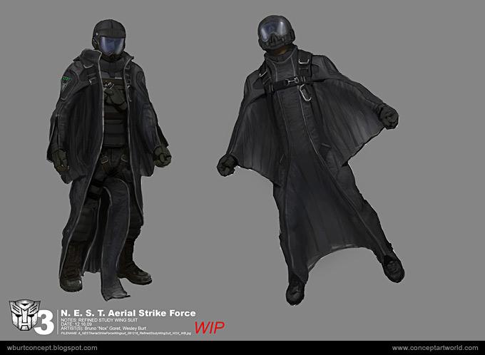 Tranformers Dark of the Moon Concept Art Wesley Burt 14a