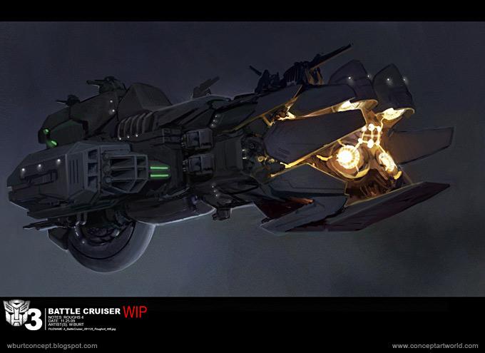 Tranformers Dark of the Moon Concept Art Wesley Burt 16a