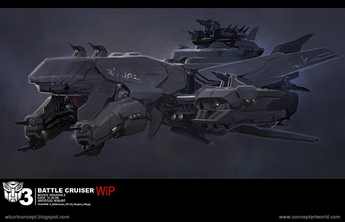 Tranformers Dark of the Moon Concept Art Wesley Burt 17a
