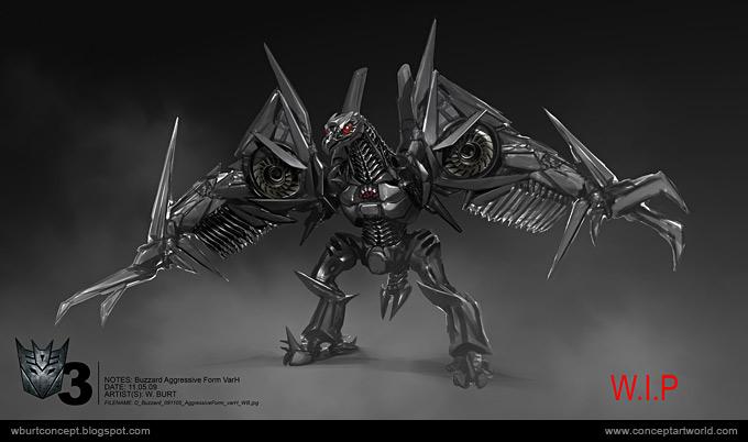 Tranformers Dark of the Moon Concept Art Wesley Burt 25a