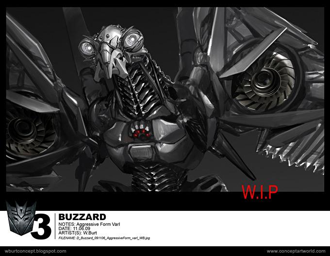 Tranformers Dark of the Moon Concept Art Wesley Burt 26a