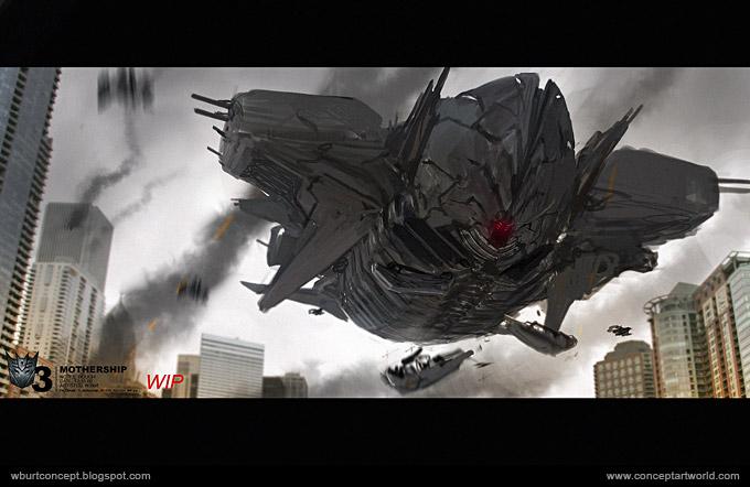 Tranformers Dark of the Moon Concept Art Wesley Burt 35a