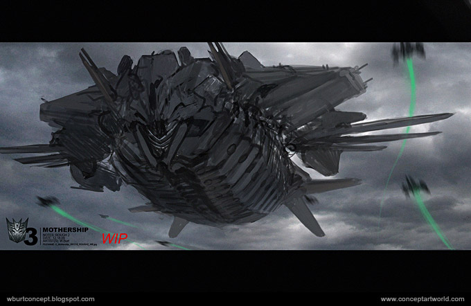 Tranformers Dark of the Moon Concept Art Wesley Burt 36a