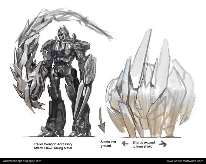 Tranformers Dark of the Moon Concept Art Wesley Burt 37a