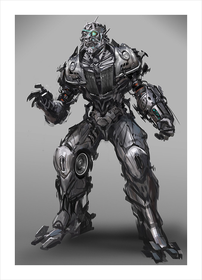 Transformers Dark of the Moon Concept Art by Arron Sims Co 12a